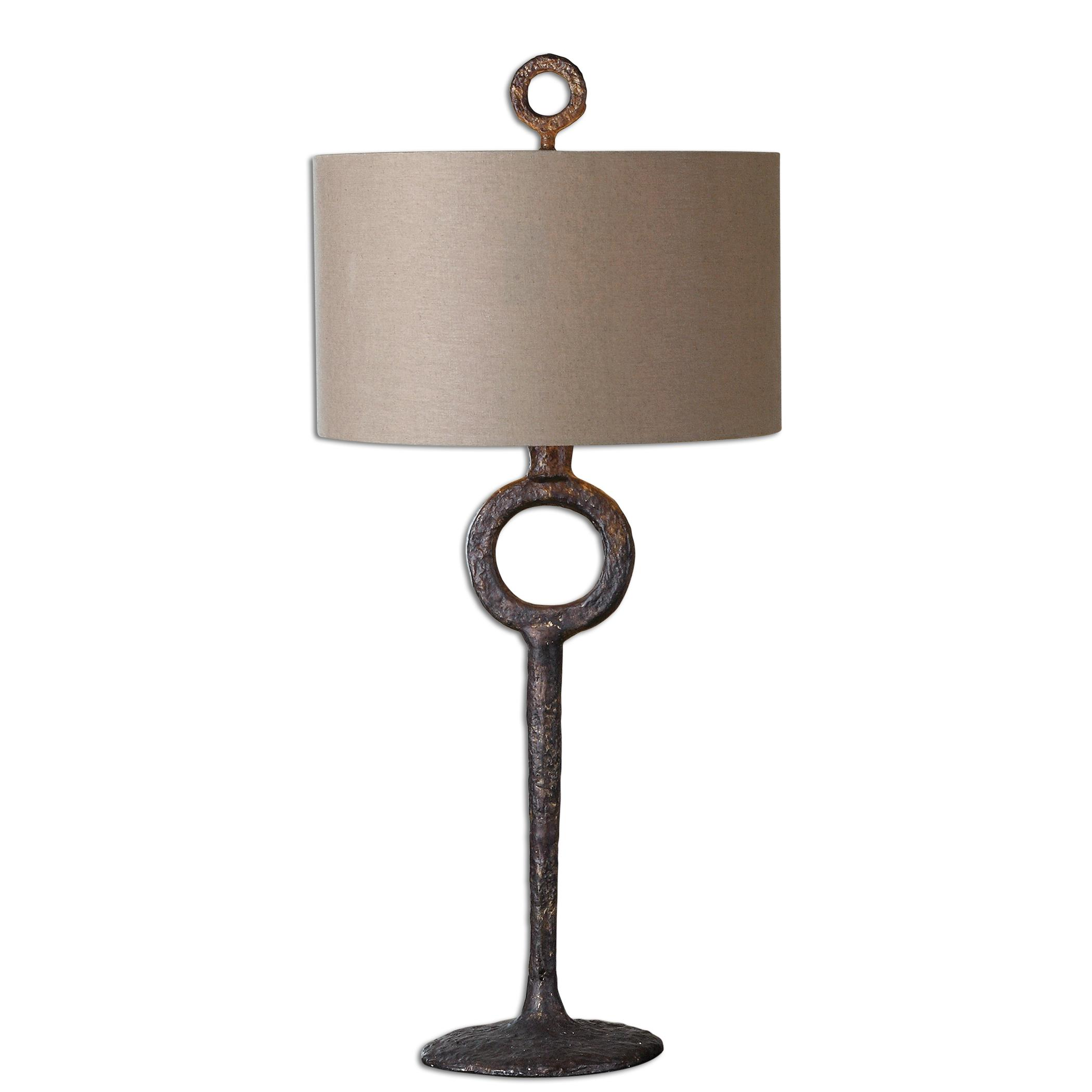 Table Lamps Ferro Cast Iron Table Lamp by Uttermost at Mueller Furniture