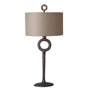 Uttermost Table Lamps Ferro Cast Iron Table Lamp
