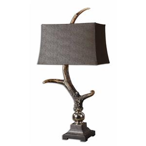 Uttermost Table Lamps Stag Horn Dark Shade