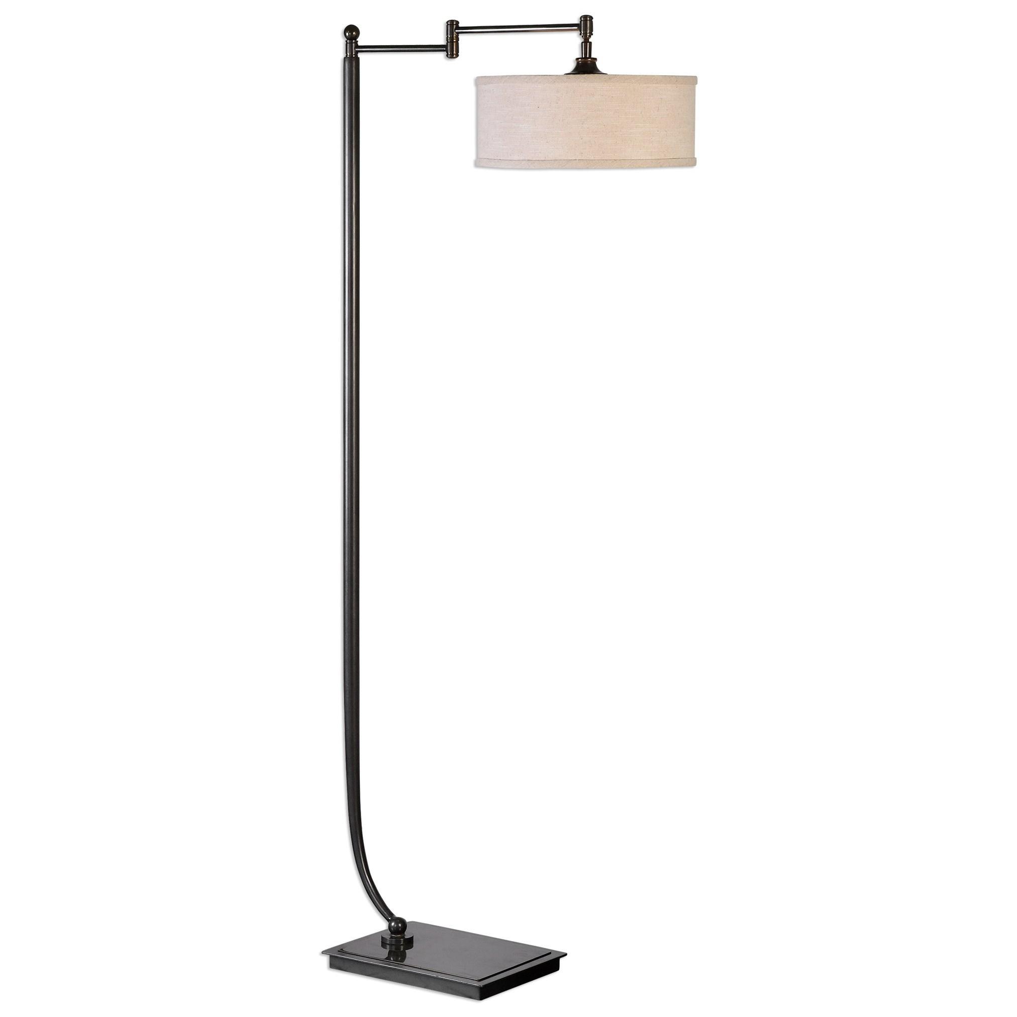 Floor Lamps Lamine Dark Bronze Floor Lamp by Uttermost at Mueller Furniture