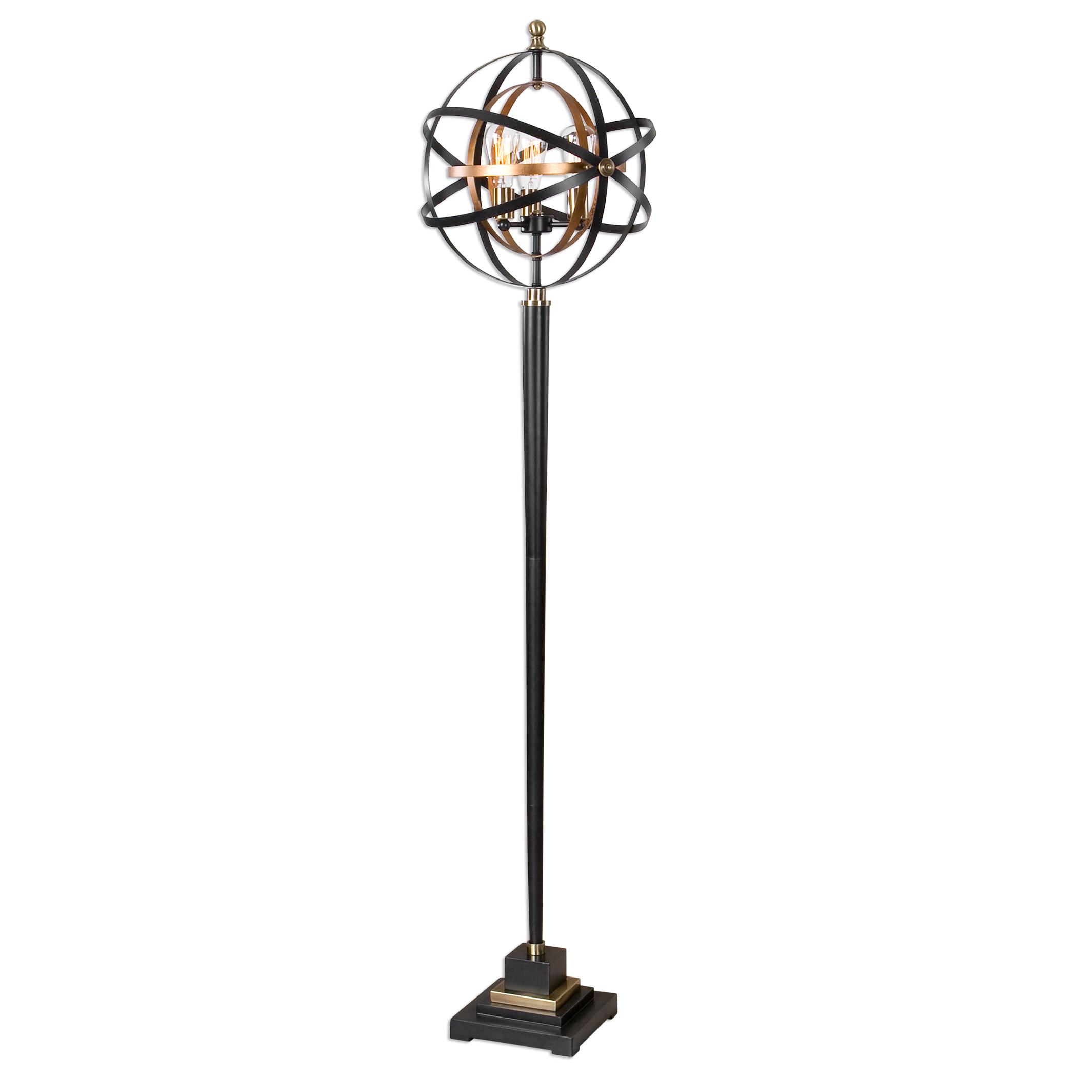 Floor Lamps Rondure Sphere Floor Lamp at Bennett's Furniture and Mattresses