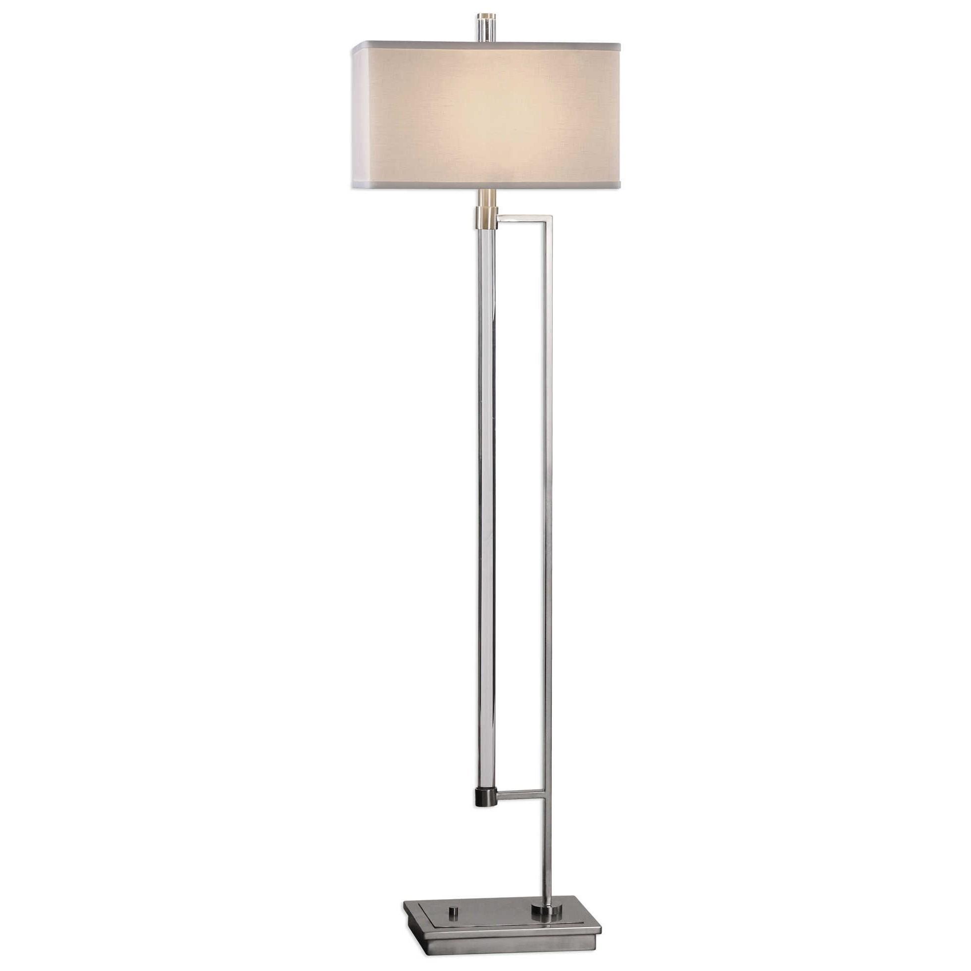 Floor Lamps Mannan Modern Floor Lamp by Uttermost at Mueller Furniture