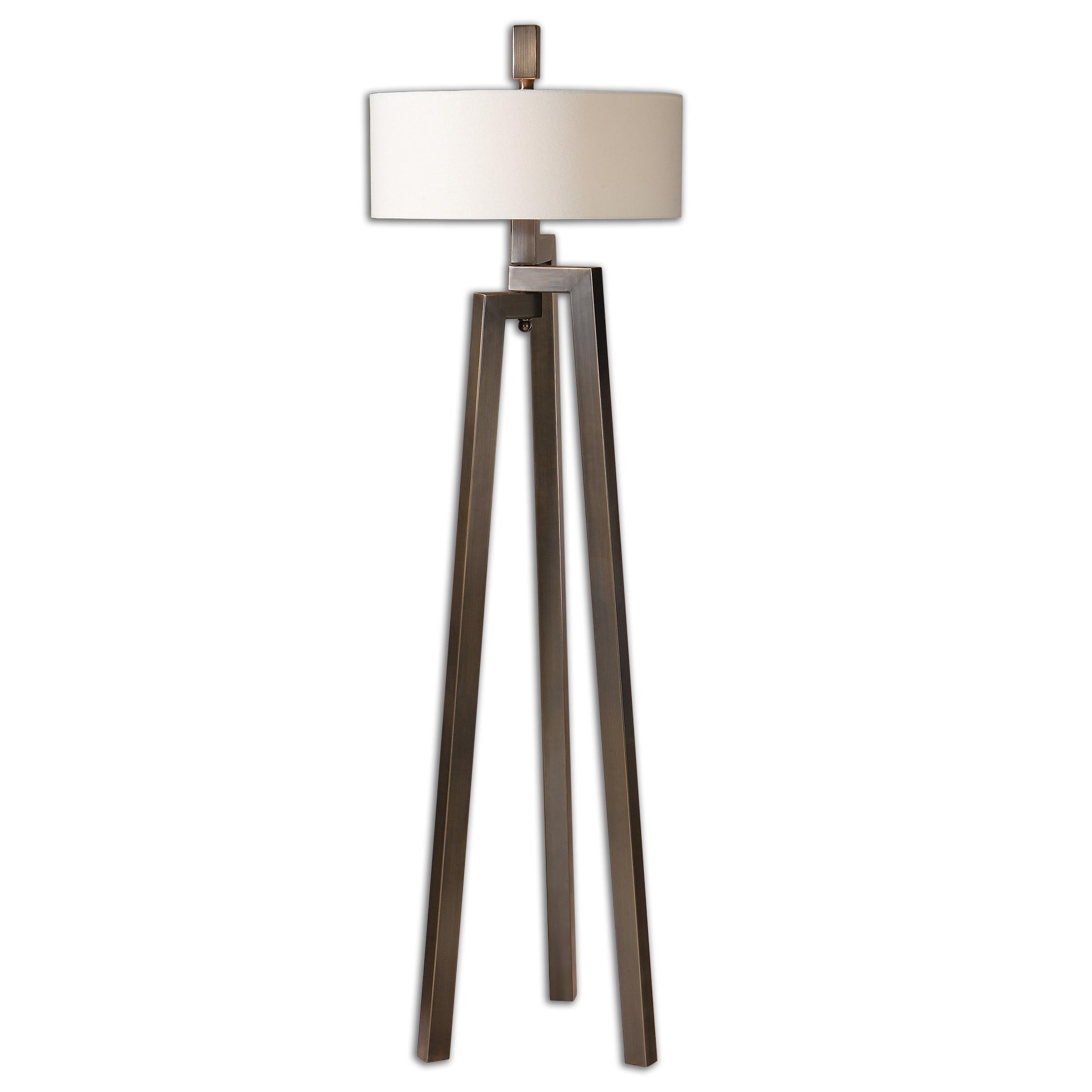Floor Lamps Mondovi Modern Floor Lamp by Uttermost at Mueller Furniture