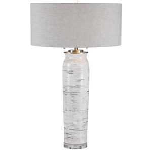Lenta White Table Lamp