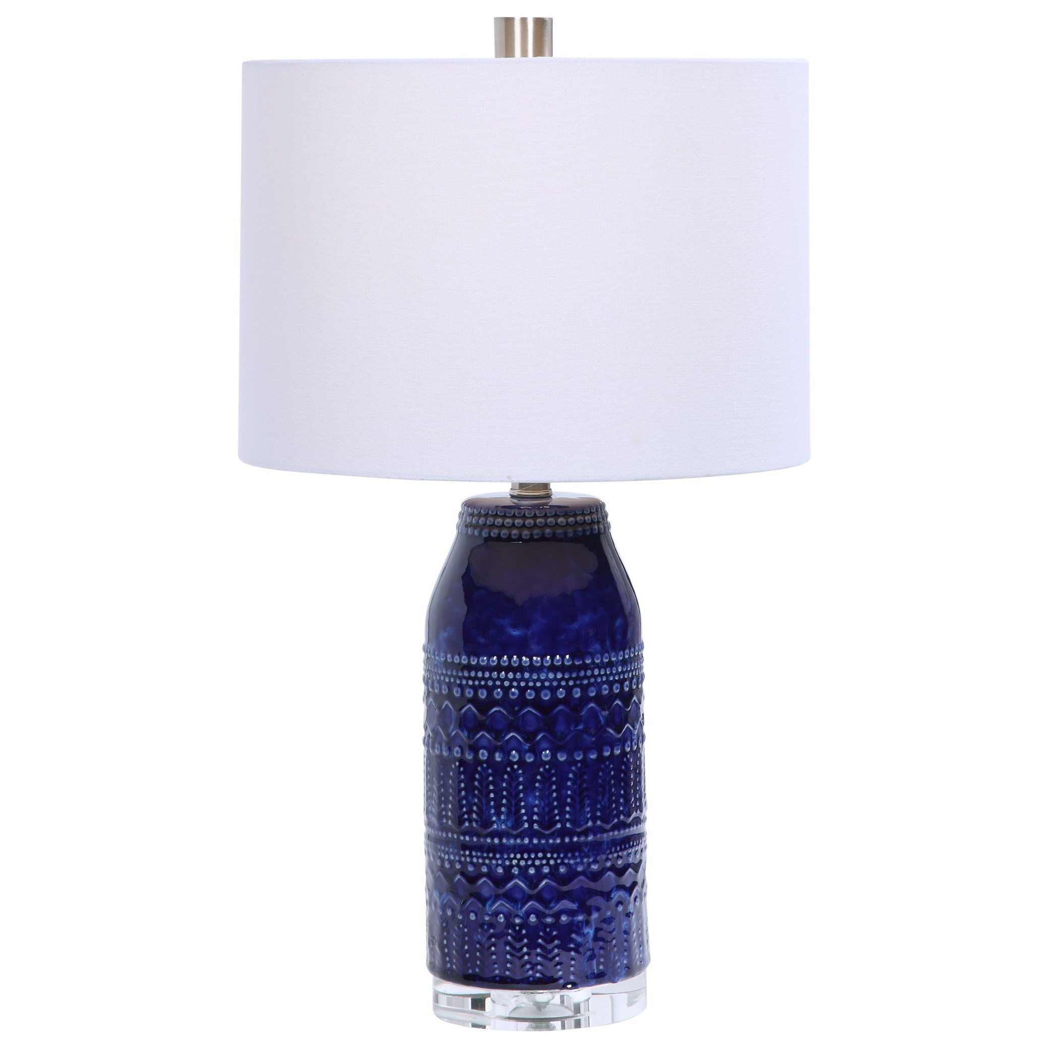 Table Lamps Reverie Blue Table Lamp by Uttermost at Mueller Furniture