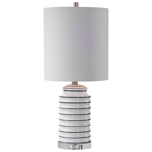 Rayas White Table Lamp