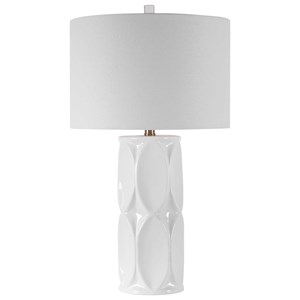 Sinclair White Table Lamp