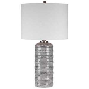 Alenon Light Gray Table Lamp