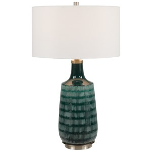 Scouts Deep Green Table Lamp