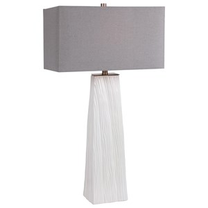 Sycamore White Table Lamp