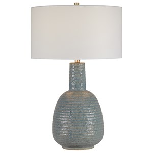 Delta Light Aqua Table Lamp