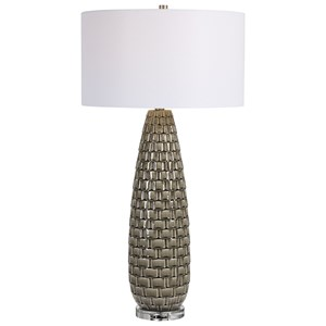 Belregard Gray Table Lamp