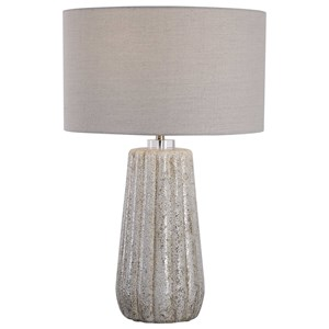 Stone-Ivory Table Lamp
