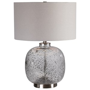 Taupe-Gray Table Lamp