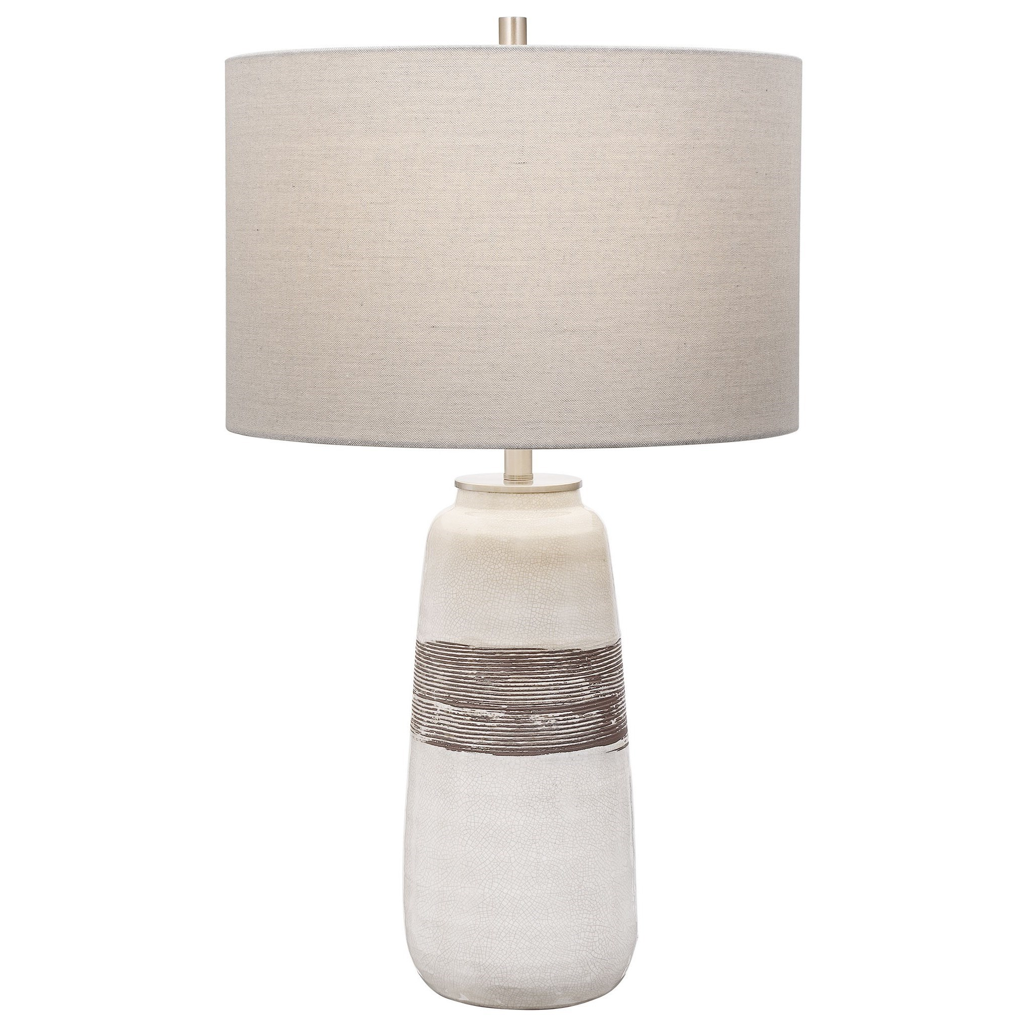 Table Lamps Graphic Black Table Lamp by Uttermost at Mueller Furniture