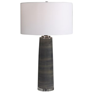 Seurat Charcoal Table Lamp