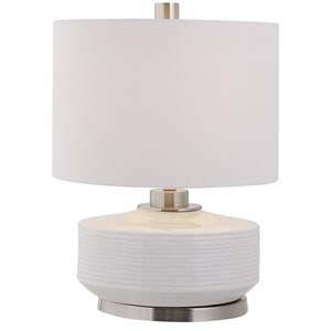 Sailor Stripe White Table Lamp