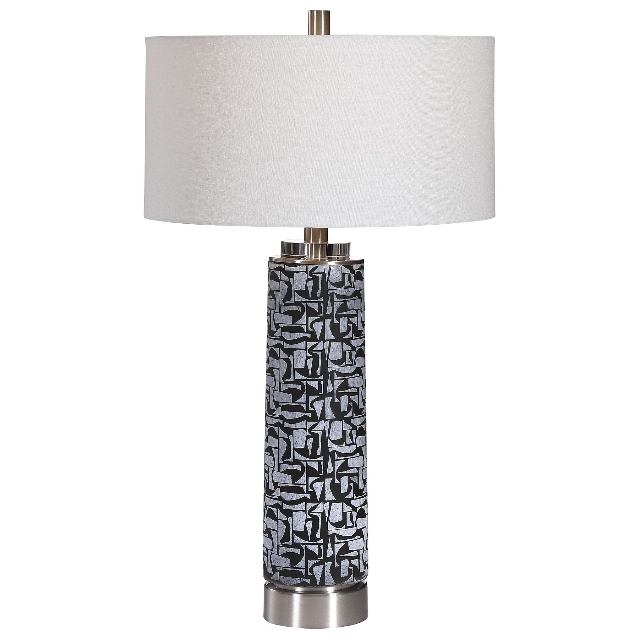 Table Lamps Kramer Gray Black Table Lamp by Uttermost at Mueller Furniture