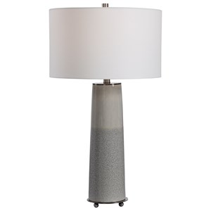 Abdel Gray Glaze Table Lamp