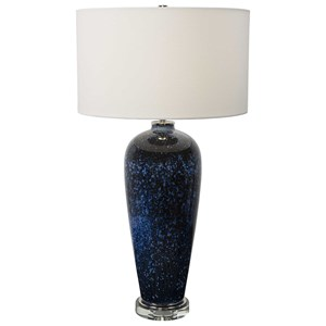 Stargazer Cobalt Navy Table Lamp