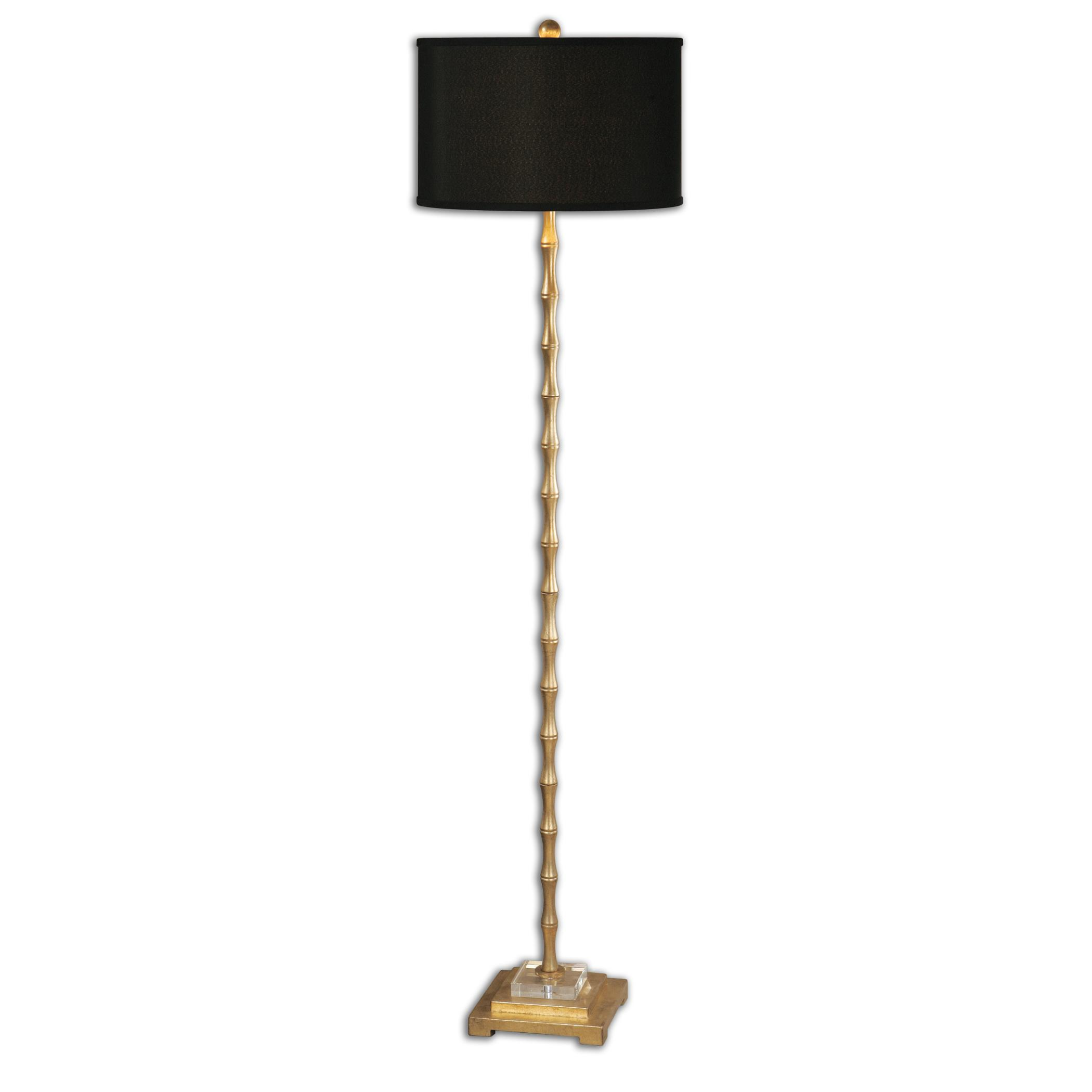 Floor Lamps Quindici Metal Bamboo Floor Lamp by Uttermost at Mueller Furniture