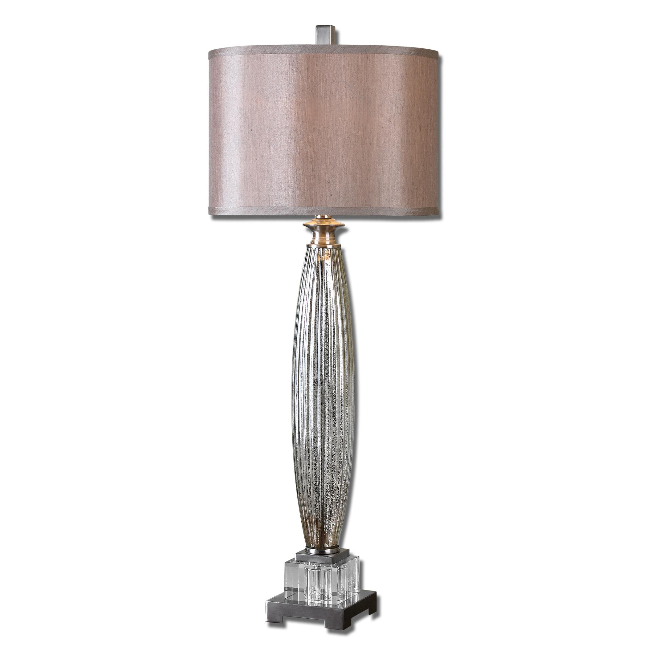 Buffet Lamps Loredo Mercury Glass Table Lamp by Uttermost at Suburban Furniture