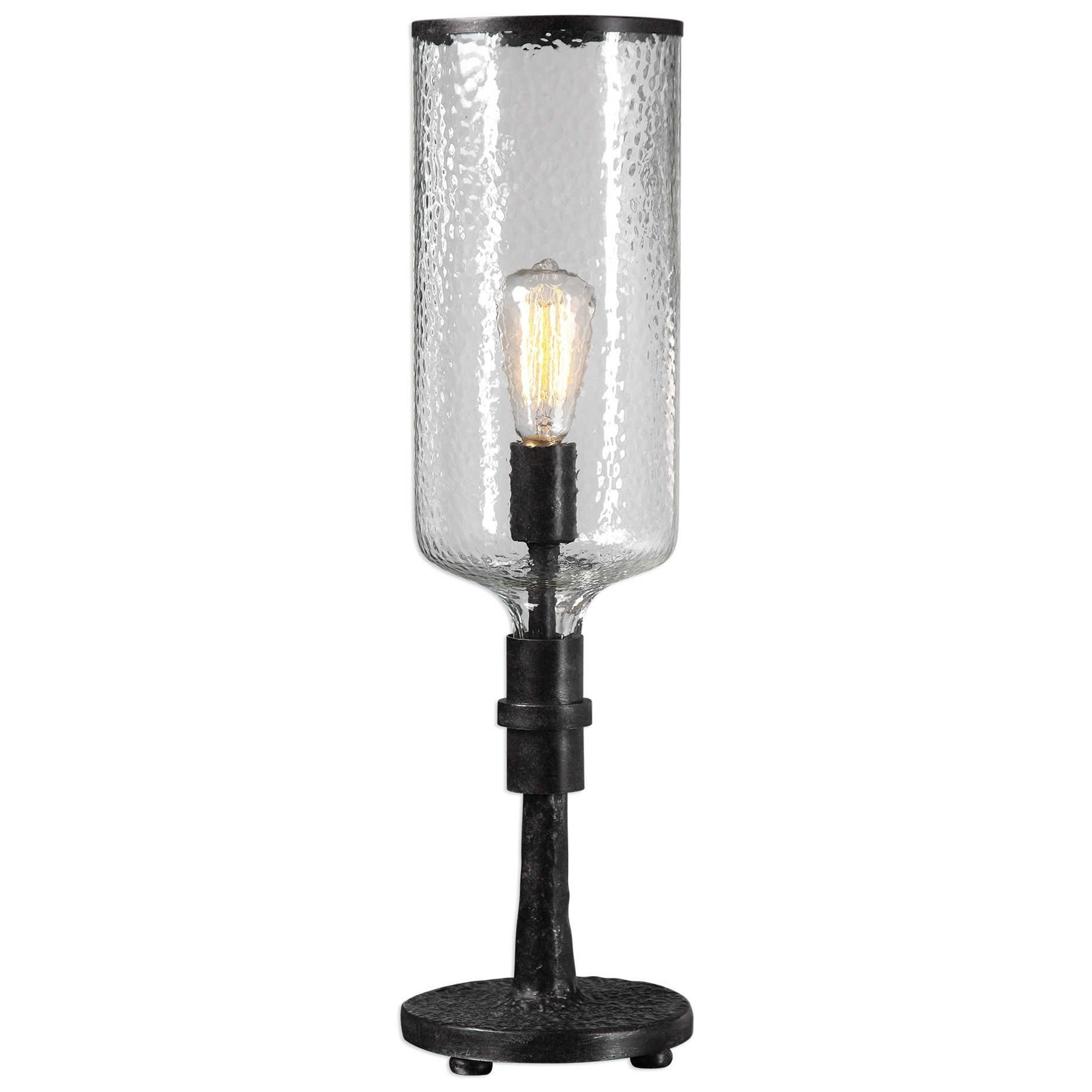 Accent Lamps Hadley Old Industrial Accent Lamp by Uttermost at Sprintz Furniture