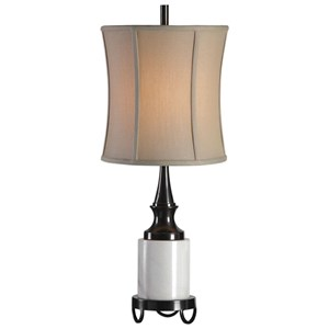 Molveno Ivory Marble Table Lamp