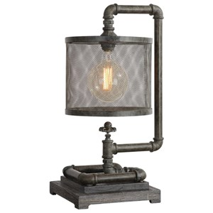 Bristow Industrial Pipe Lamp