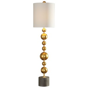 Selim Gold Buffet Lamp