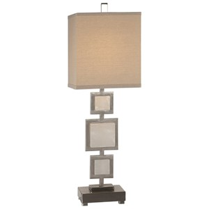 Idalgo Brushed Nickel Lamp
