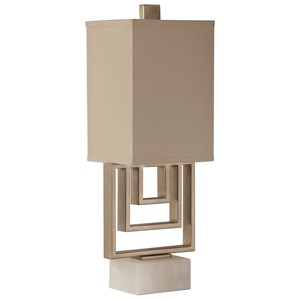 Medora Brushed Nickel Lamp