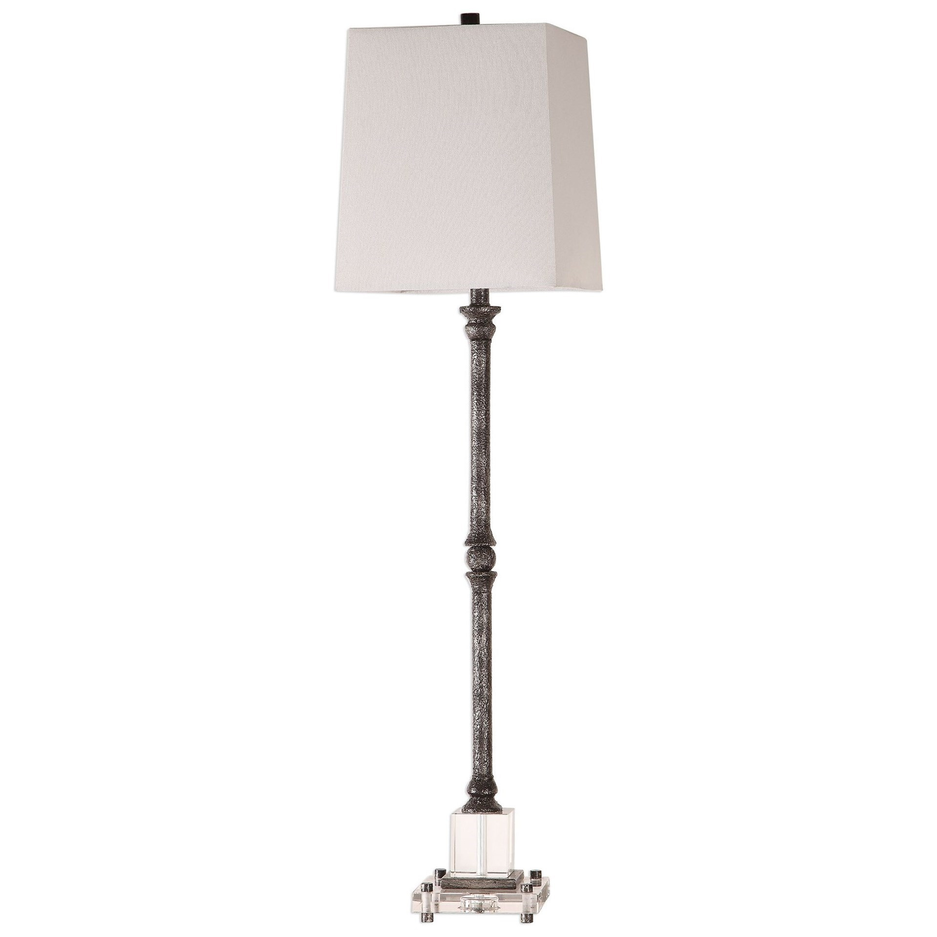 Buffet Lamps Teala Aged Black Buffet Lamp by Uttermost at Suburban Furniture