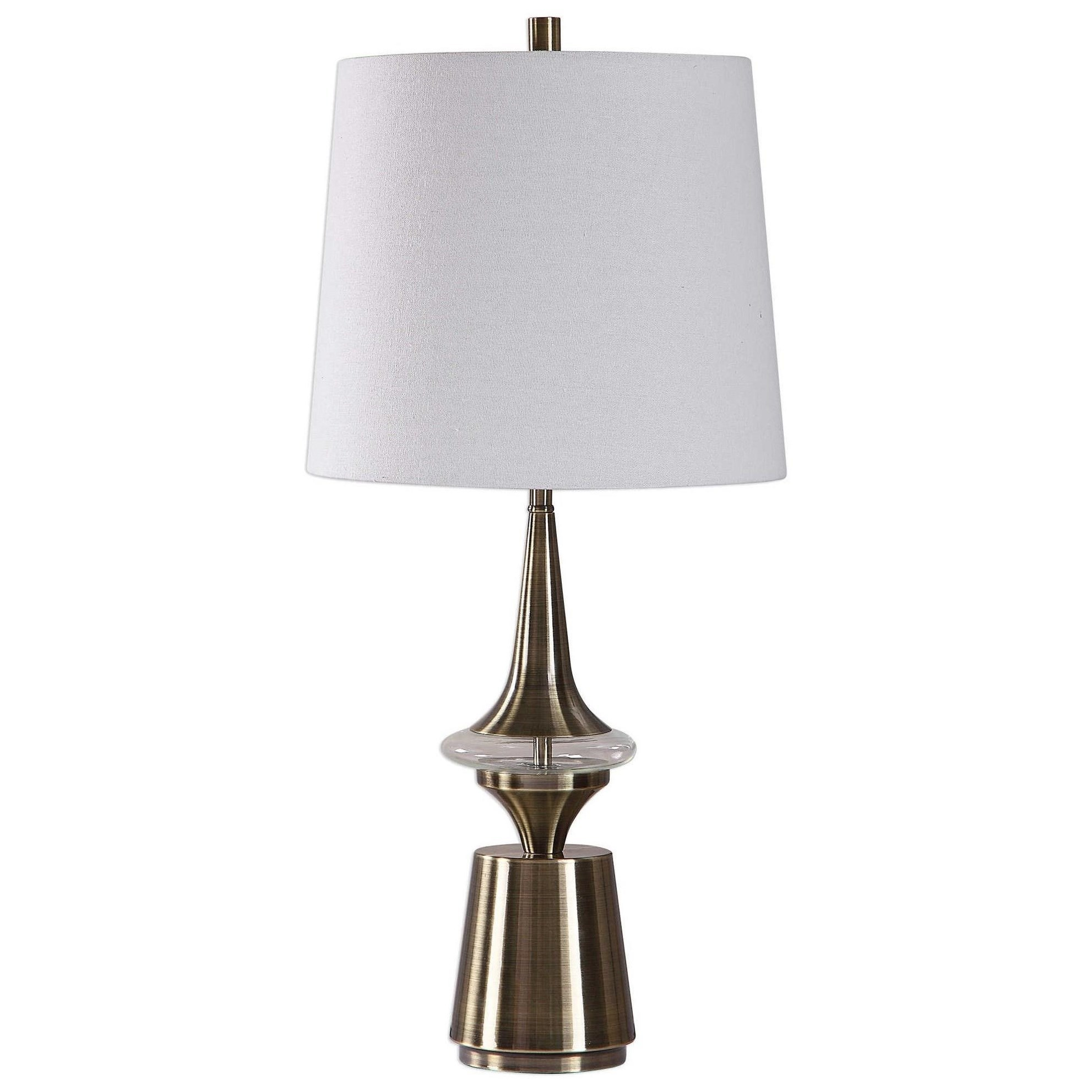 Table Lamps Alverson Modern Table Lamp by Uttermost at Mueller Furniture