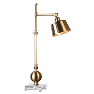 Uttermost Lamps Laton Brushed Brass Task Lamp