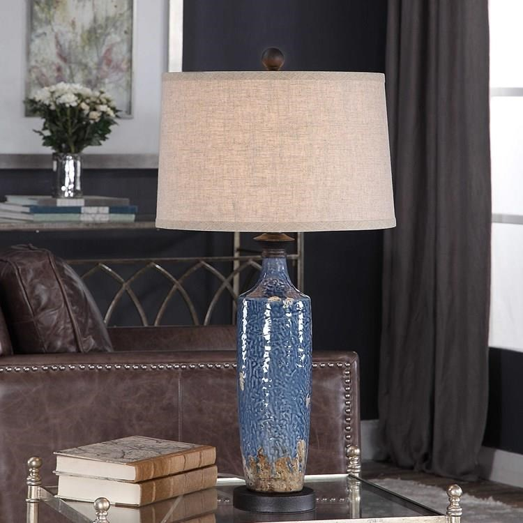 Table Lamps ELIZA TABLE LAMP by Unique at Walker's Furniture