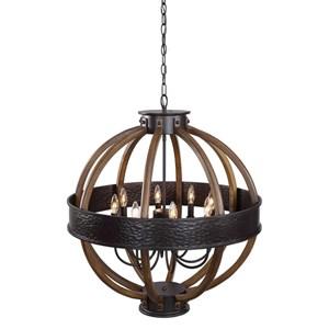 Bowdon 8 Light Orb Pendant