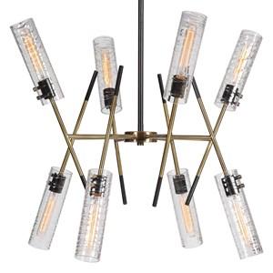 Telesto 8 Light Linear Pendant