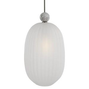 Crème Oversized 1 Light Pendant