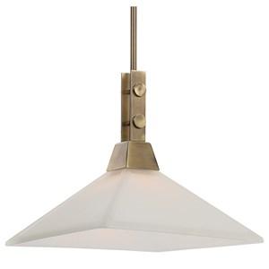 Brookdale Industrial 1 Light Pendant