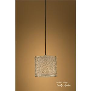 Brandon Silver 1 Light Mini Hanging Shade