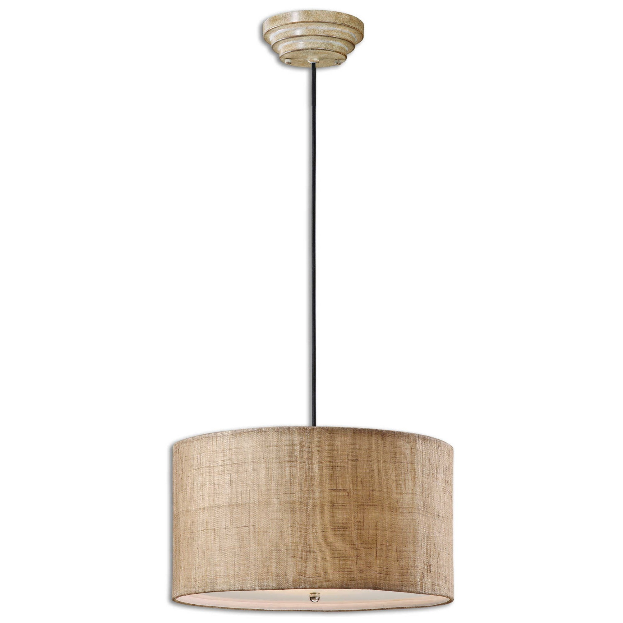 Lighting Fixtures - Pendant Lights Dafina 3 Light Hanging Shade by Uttermost at Suburban Furniture