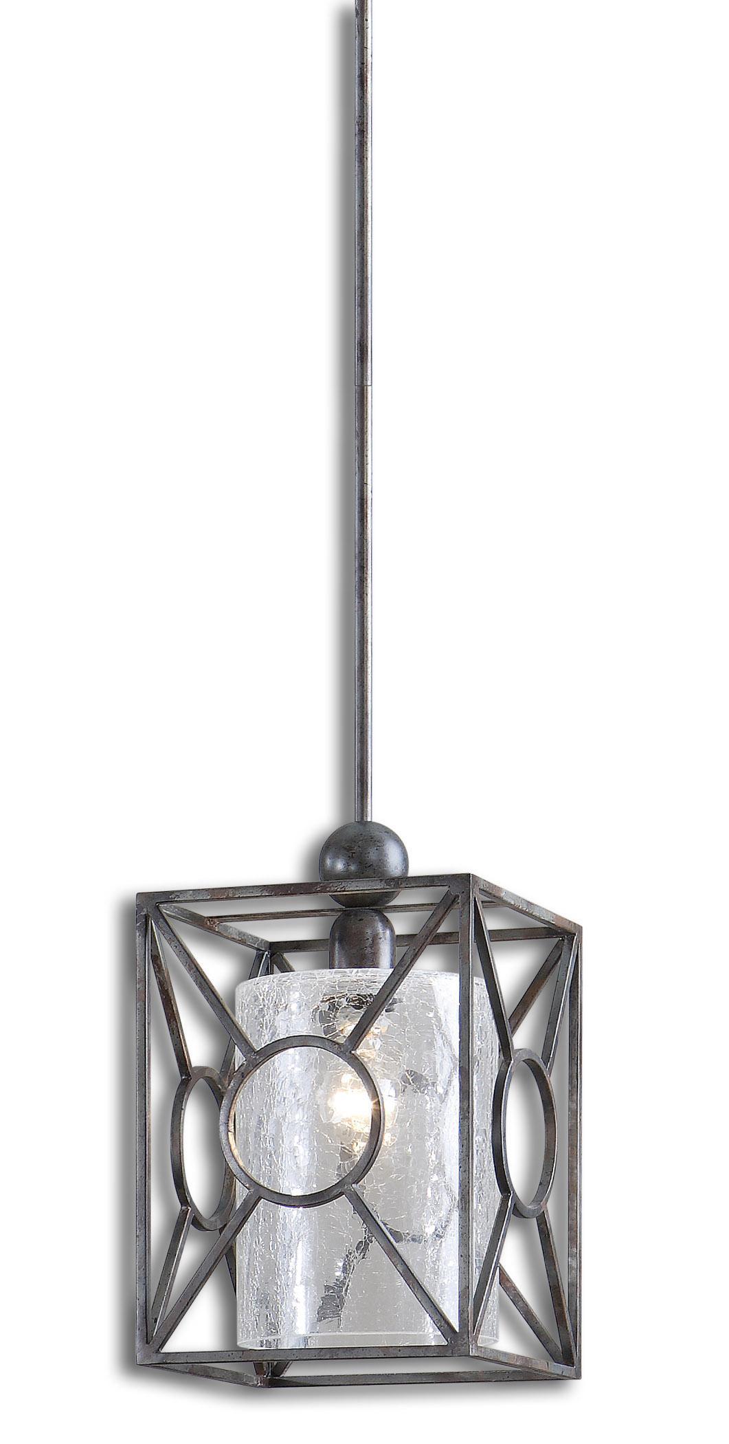 Lighting Fixtures - Pendant Lights Arbela 1 Light Mini Pendant by Uttermost at Mueller Furniture