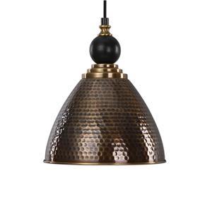 Adastra 1 Light Antique Brass Pendant