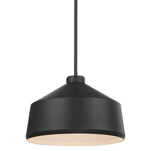 Holgate 1 Light Black Pendant