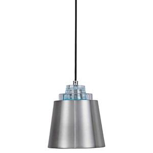 Pratt 1 Light Nickel Mini Pendant