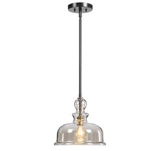 Eaton 1 Light Glass Pendant