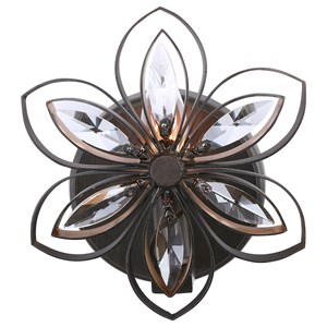 Posey 1 Light Floral Sconce