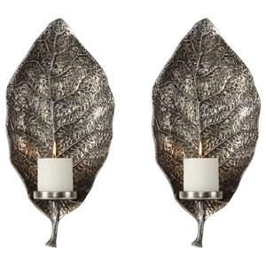 Set of 2 Zelkova Wall Sconces
