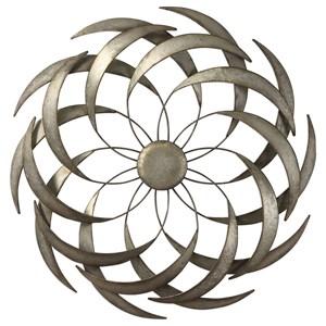 Barnes Spiraled Iron Wall Art